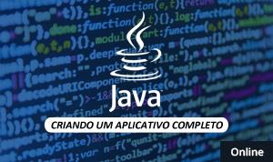 Java - Criando um Aplicativo Completo (online)